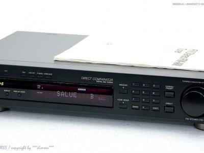索尼 SONY ST-S390 立体声-FM/AM-F<wbr/>M Tuner RDS + BDA! Top-Zustand! Gewartet+1J.Ga<wbr/>rantie!