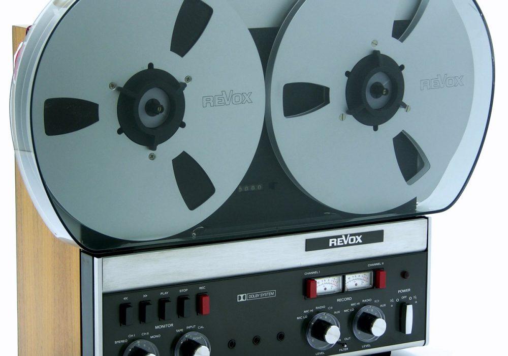 ReVox A77 MKIII Dolby 2轨 开盘机