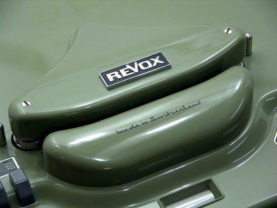 ReVox F36 2-track tube 开盘机 (1962)