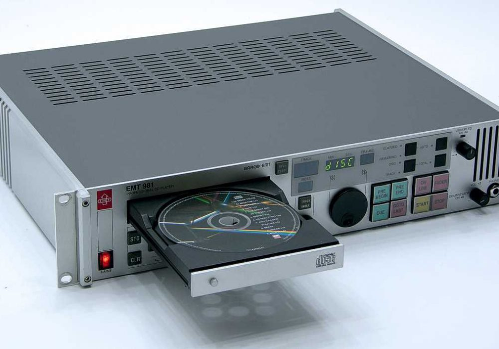 EMT 981 prof. studio cd player...