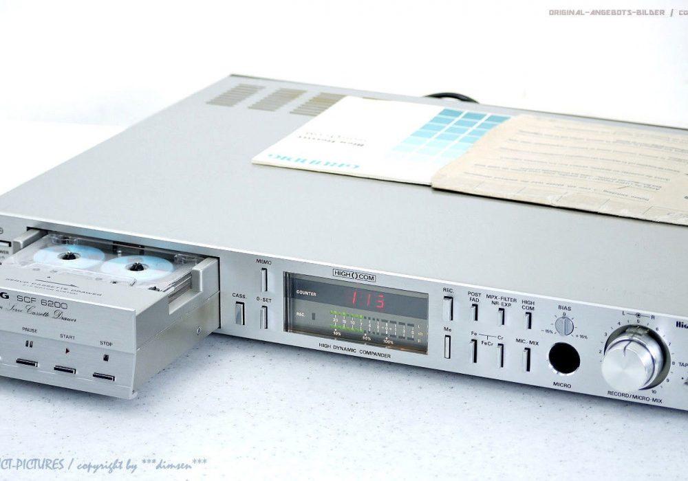 GRUNDIG SCF6200 古董 High-End 磁带卡座 +BDA! TOP! Revidiert+1J.G<wbr/>arantie!