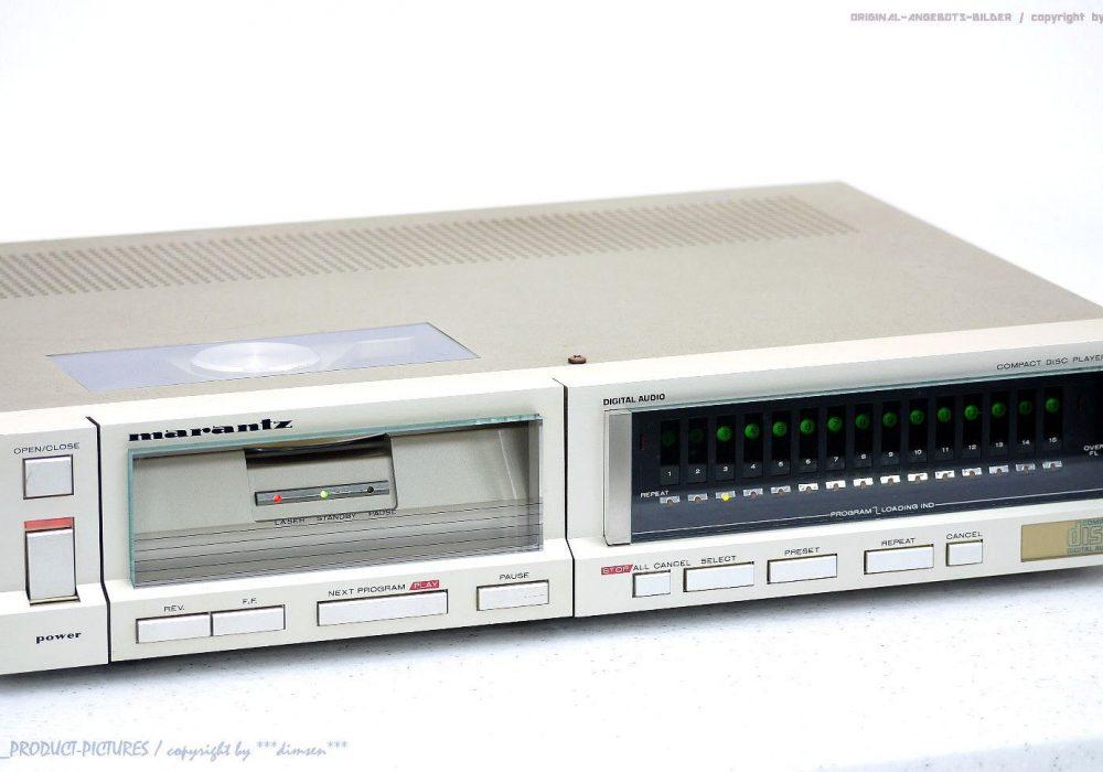 MARANTZ CD-73 古董 High-End CD-Player Top-Zustand! Gewartet+1J.Ga<wbr/>rantie! ★★★