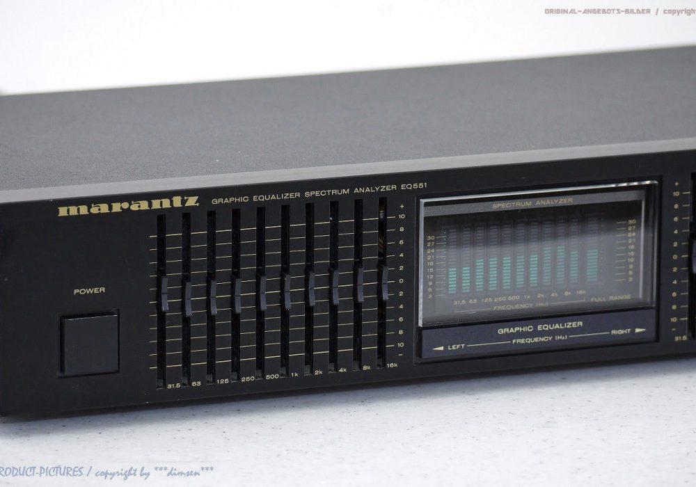 MARANTZ EQ-551 10-Band Graphic Equalizer/Spec<wbr/>trum-Analyzer Top-Zust.+1J.G<wbr/>arantie