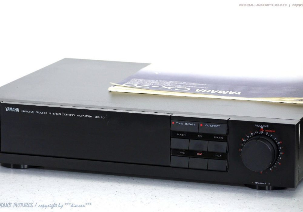 YAMAHA CX-70 High-End Vorverstärker/<wbr/>Pre-Amplifier m BDA! Top-Zustand+1J<wbr/>.Garantie
