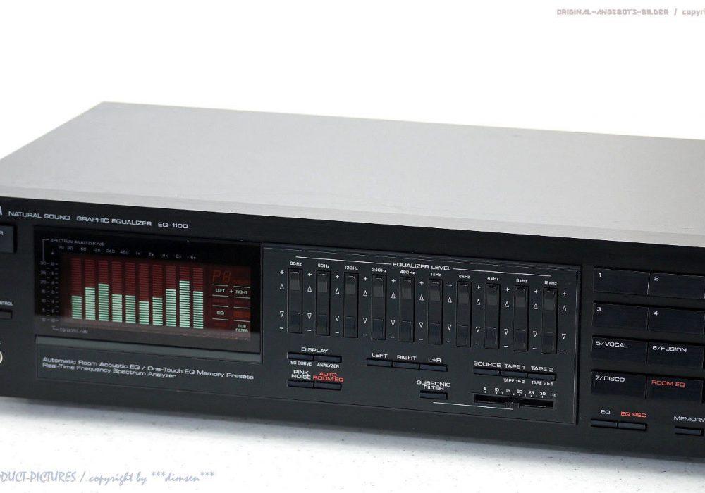 YAMAHA EQ-1100 HighEnd Graphic Equalizer/Spec<wbr/>trum-Analyzer Top-Zust.+1J.G<wbr/>arantie