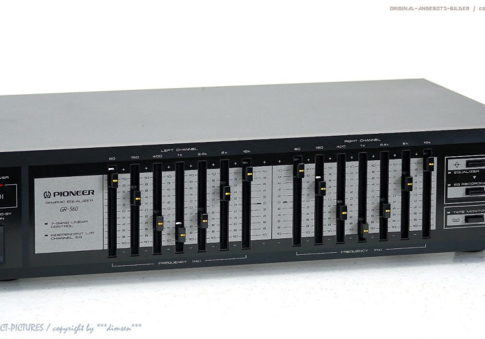 PIONEER GR-560 7-Band 图示均衡器
