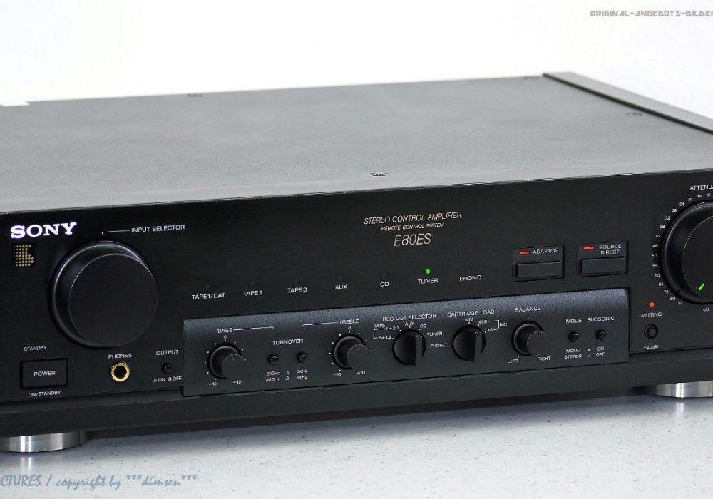 索尼 SONY TA-E80ES High-End 功率放大器