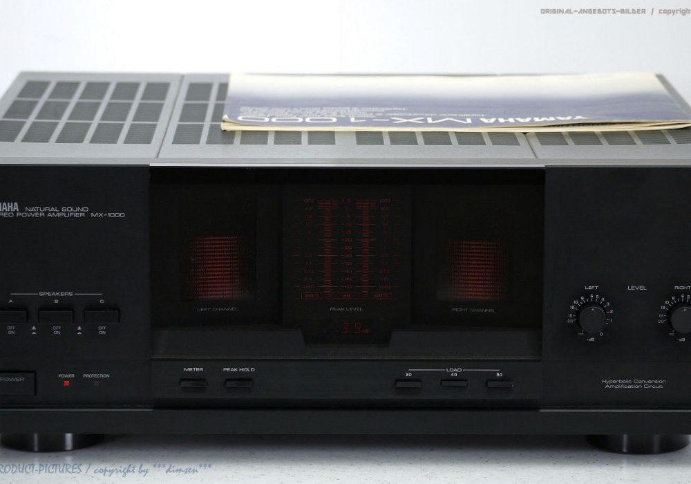 YAMAHA MX-1000 High-End Endstufe/Power<wbr/>-Amp. BDA+OVP!! Gewartet+1J.Ga<wbr/>rantie!! TOP