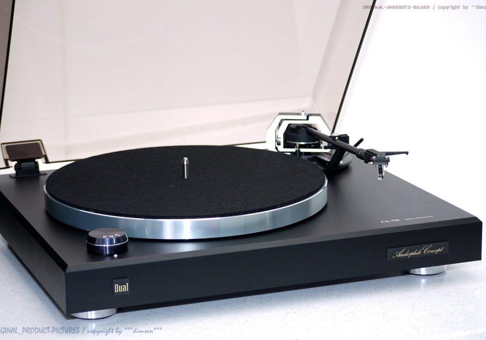 DUAL CS-750 High-End 黑胶唱机