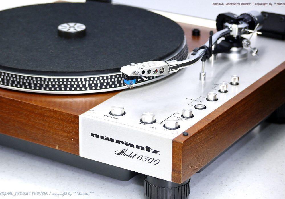 马兰士 Marantz Model 6300 High-End 黑胶唱机
