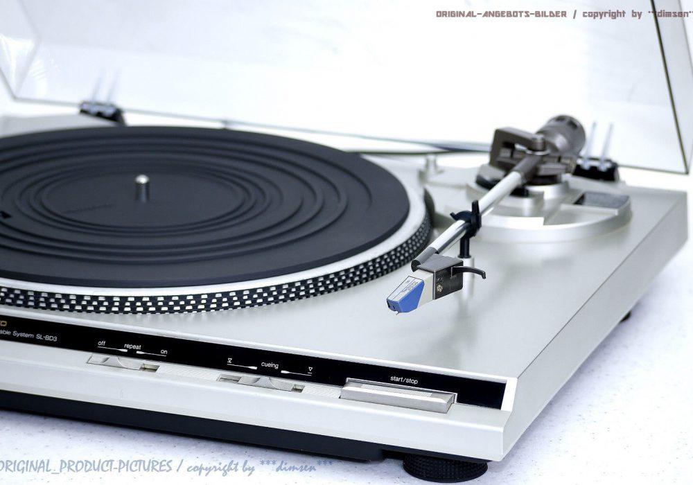 松下 Technics SL-BD3 High-End 黑胶唱机