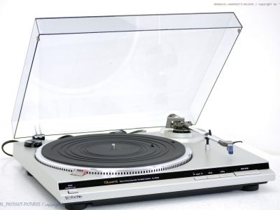 松下 Technics SL-QD33 High-End Plattenspieler<wbr/>/黑胶唱机 + EPC-P30!! Top +1J.Garantie