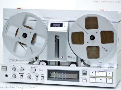 AKAI GX-77 High-End GX-Master Bandmaschine/T<wbr/>onband Zubehör+Revidi<wbr/>ert+1J.Garanti<wbr/>e