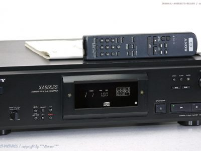 索尼 SONY CDP-XA555ES High-End ES CD播放机