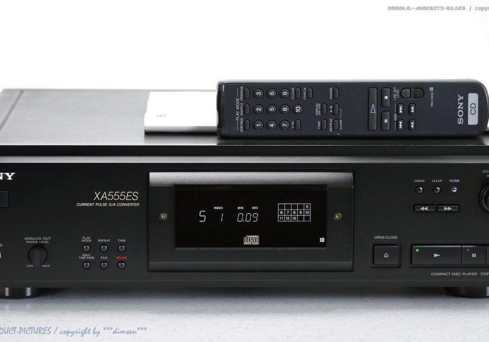 索尼 SONY CDP-XA555ES High-End ES CD播放机