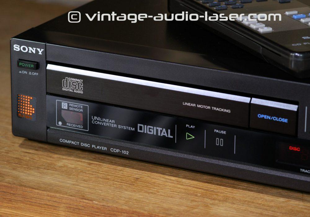 索尼 SONY CDP-102 CD播放机