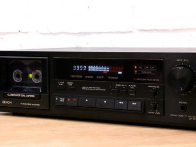 DENON DR-M22 Hi-Fi cassette tape deck Dolby B/C 3-HEAD closed loop dual capstan