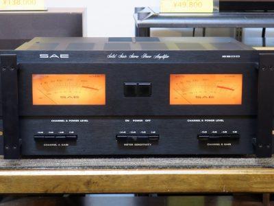 MODEL 2600 SAE エスエーイー パワーアンプ(トランジスター)