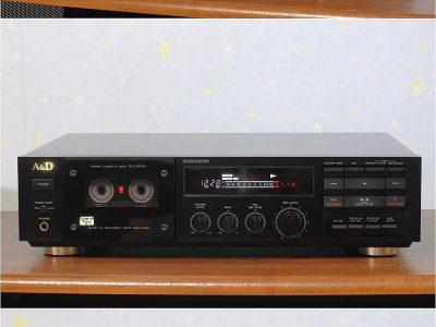 2ヘッドの銘機 A&D GX-Z5000 カセットデッキ 動作良好 整備済 良品 1円スタート