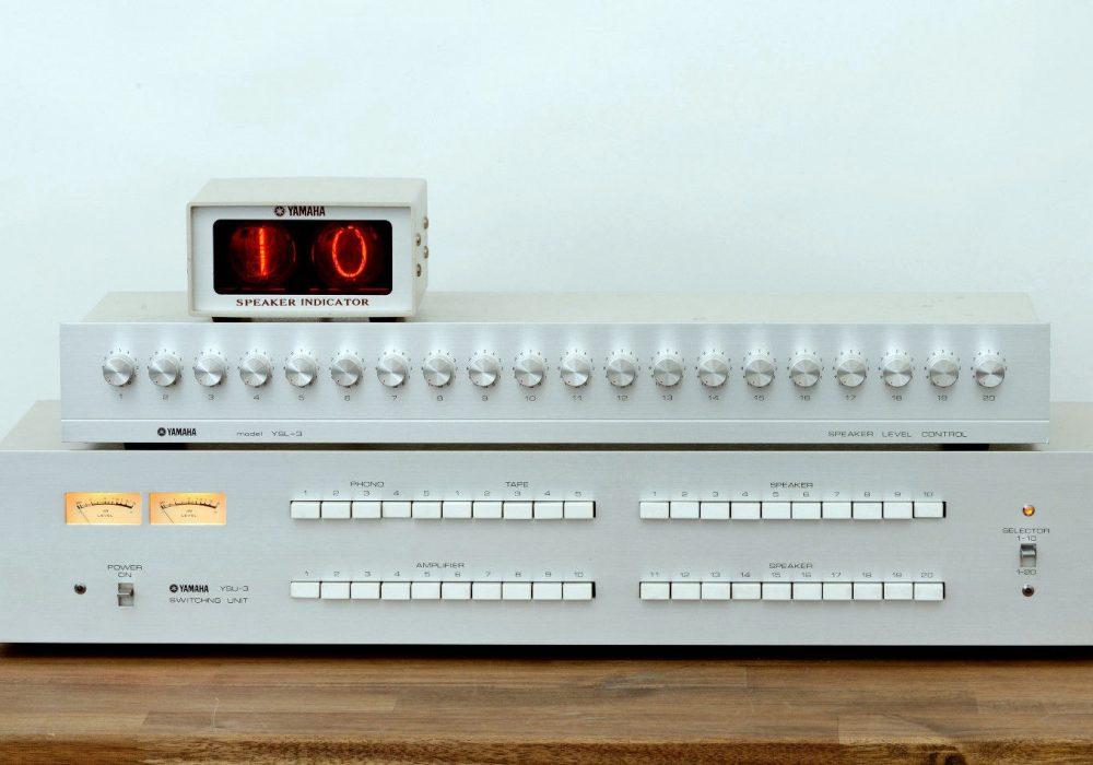雅马哈 YAMAHA YSU-3 & YSL-3 信号分配器