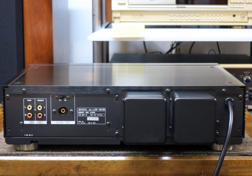 CDP-555ESD SONY ソニー CDプレーヤー