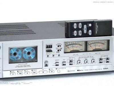 AIWA AD 6900 MKII E 磁带 Tape 卡座 mit FB+1-A Zustand! Revidiert+1J.G<wbr/>arantie