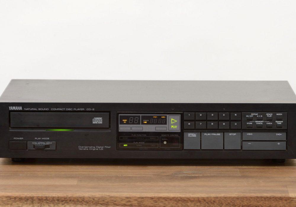 雅马哈 YAMAHA CD-2 CD-Player in schwarz