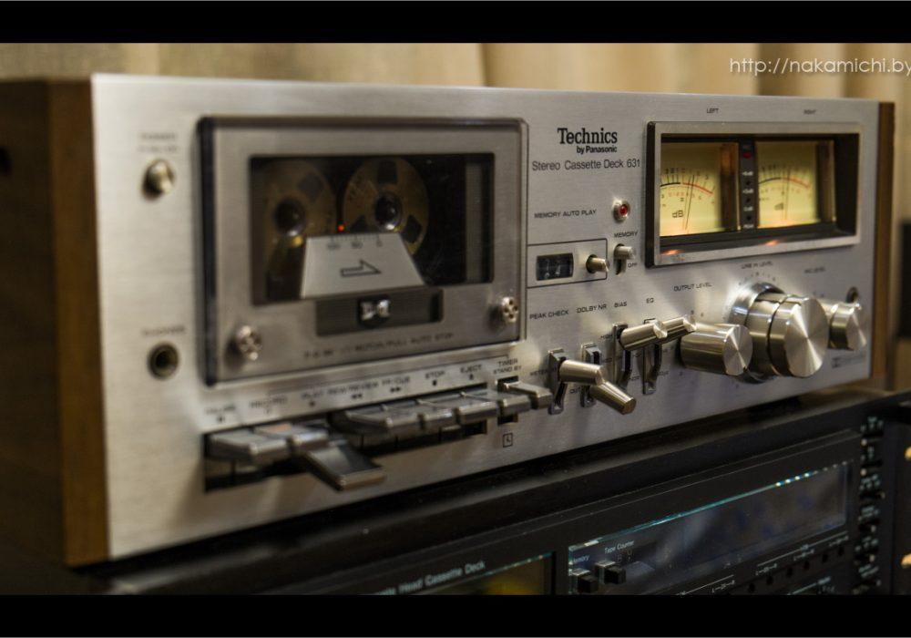 松下 Technics RS-631 卡座