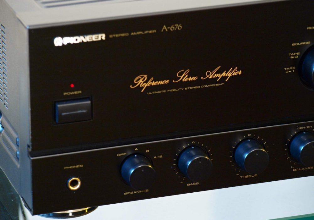 先锋 PIONEER A-676 功率放大器