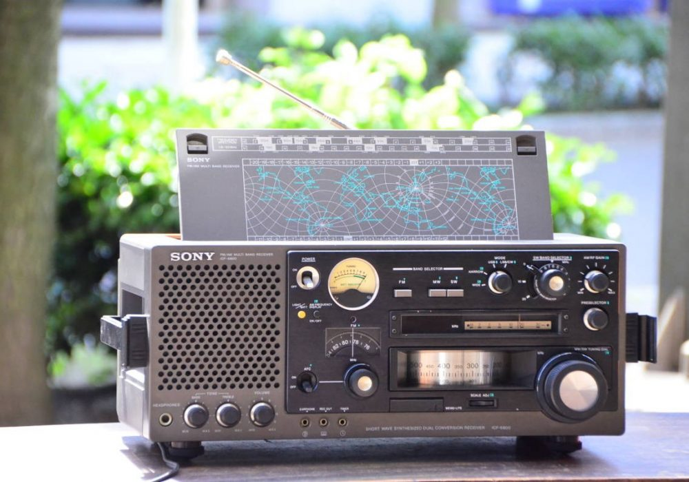 索尼 SONY ICF-6800 BCL 晶体管收音机 多频带接收器