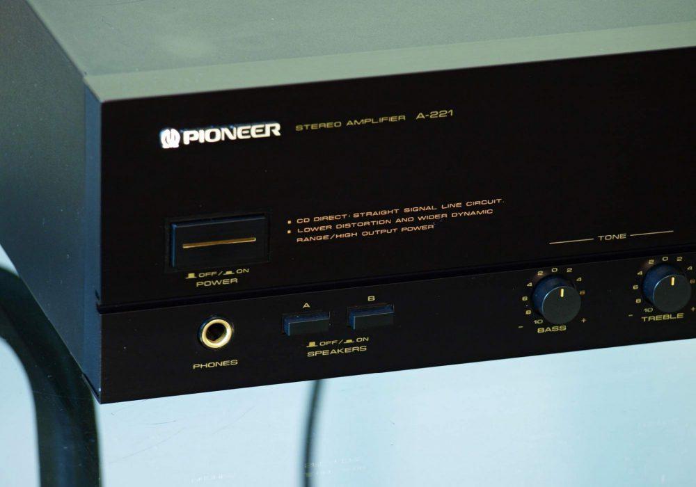 先锋 PIONEER A-221 功率放大器