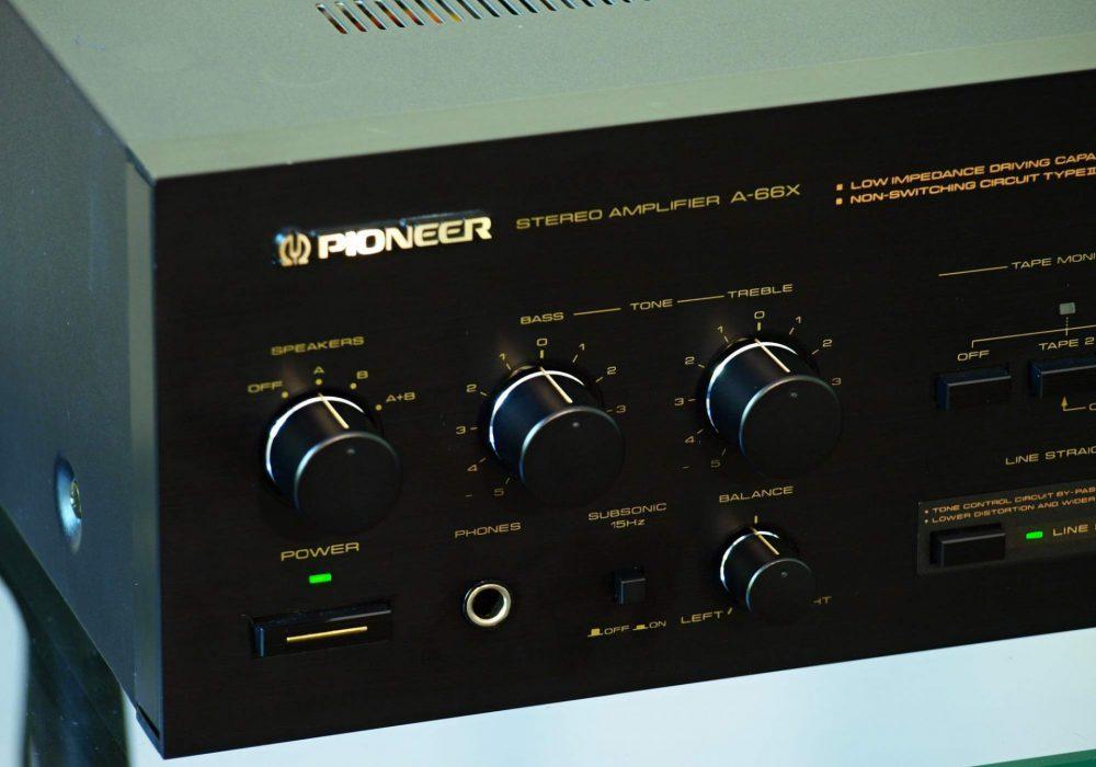 先锋 PIONEER A-66X 功率放大器