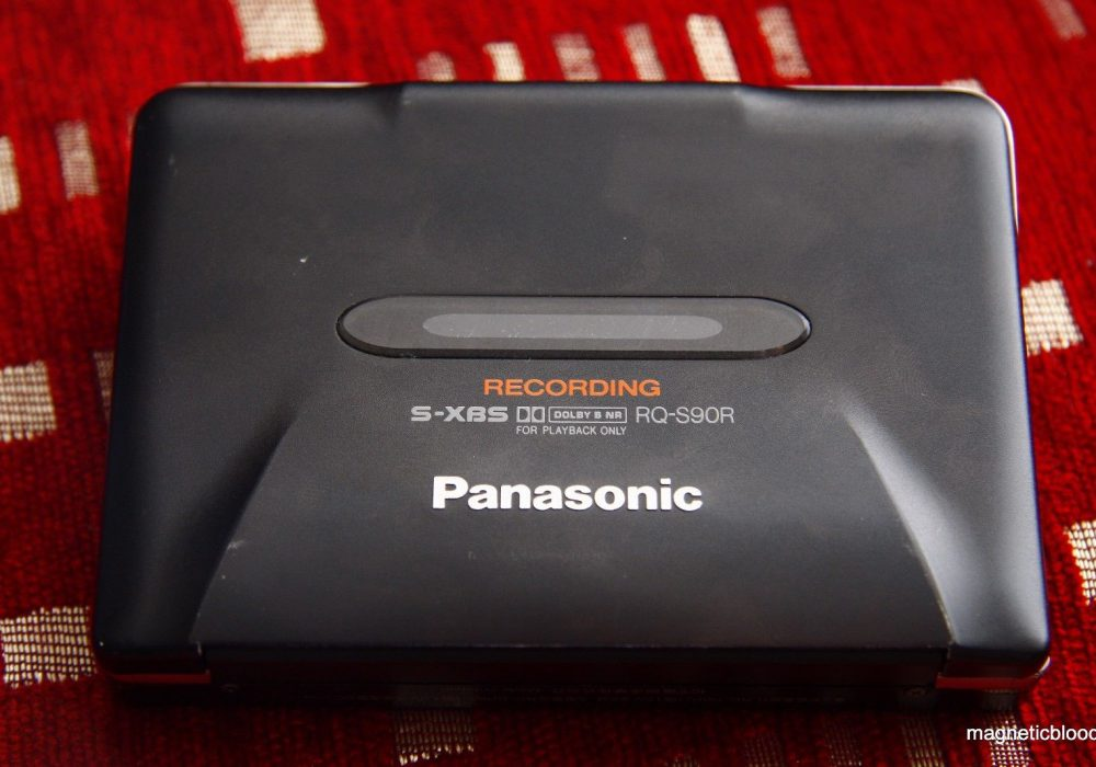 松下 Panasonic RQ S90R autoreverse cassette recorder, new belts , 95% functional