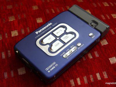 松下 Panasonic RQ SX41 autoreverse cassette player, new belts , 100% functional