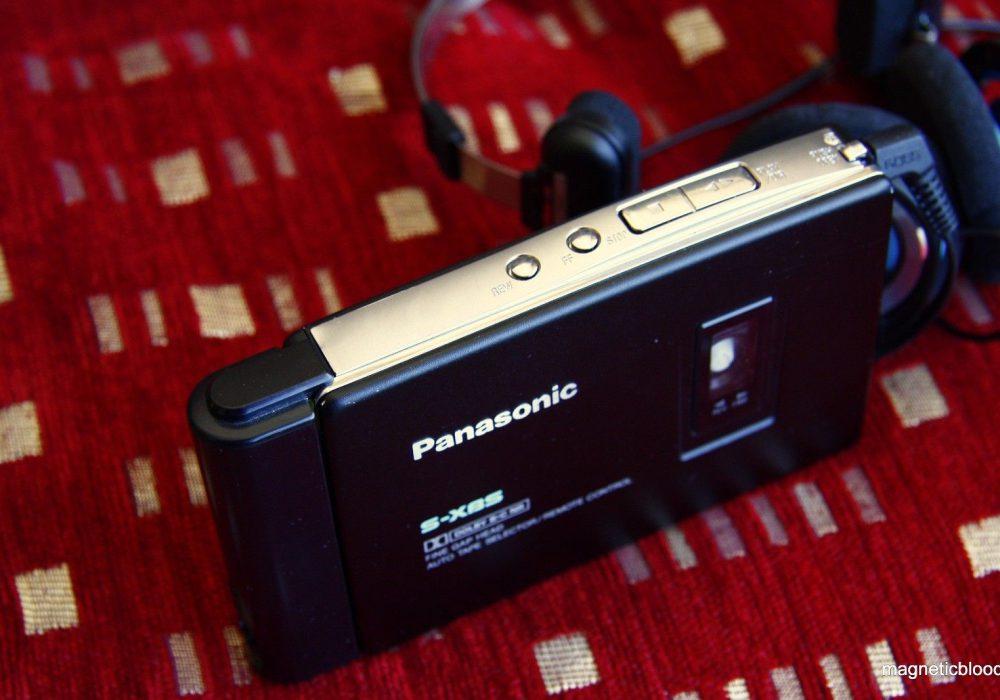 Rare 松下 Panasonic RQ S5 Dolby B+C cassette player, Koss Porta Pro headphones