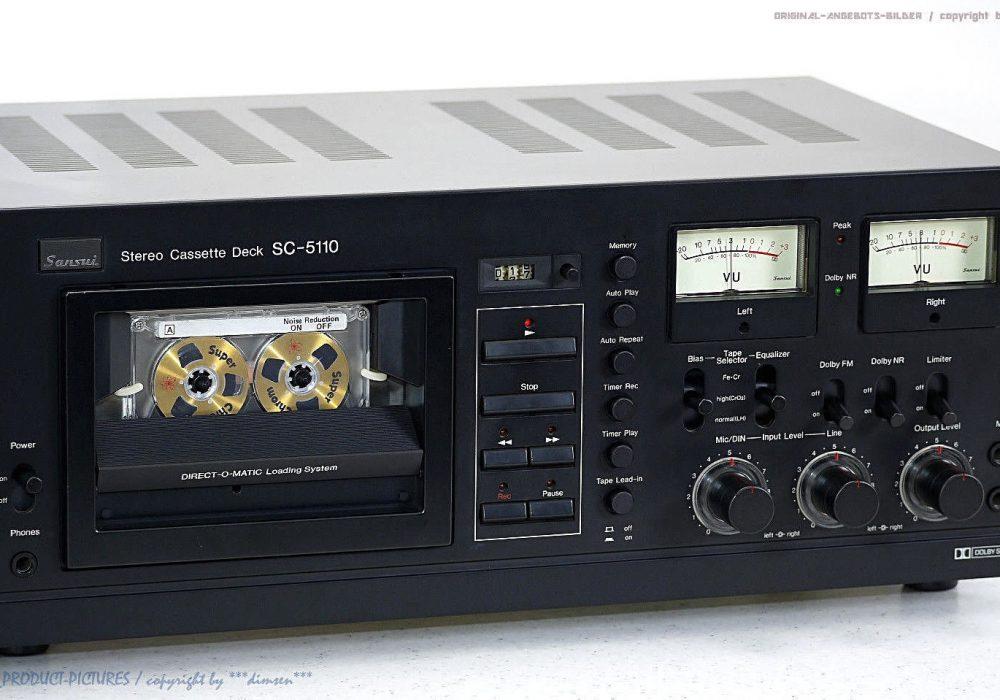 SANSUI SC-5110 古董 High-End 磁带 Tape 卡座 TOP!! Revidiert+1J.G<wbr/>arantie!!