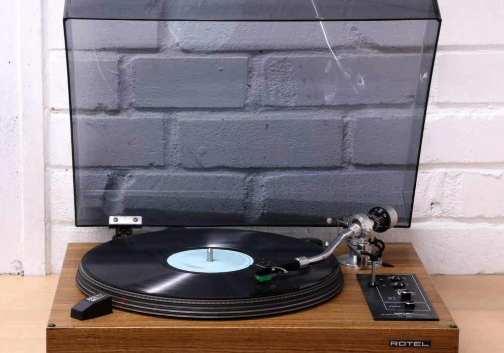 ROTEL RP-1500 Hi-Fi 古董 record player 黑胶唱机 33 45 RPM AT95 cart NEW