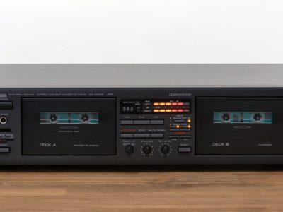 YAMAHA KX-W332 Stereo Double Cassette Deck