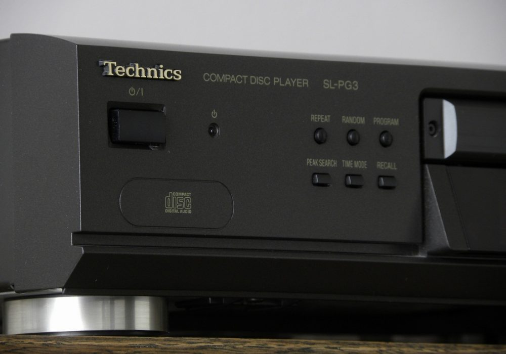 Technics SL-PG3 CD播放机