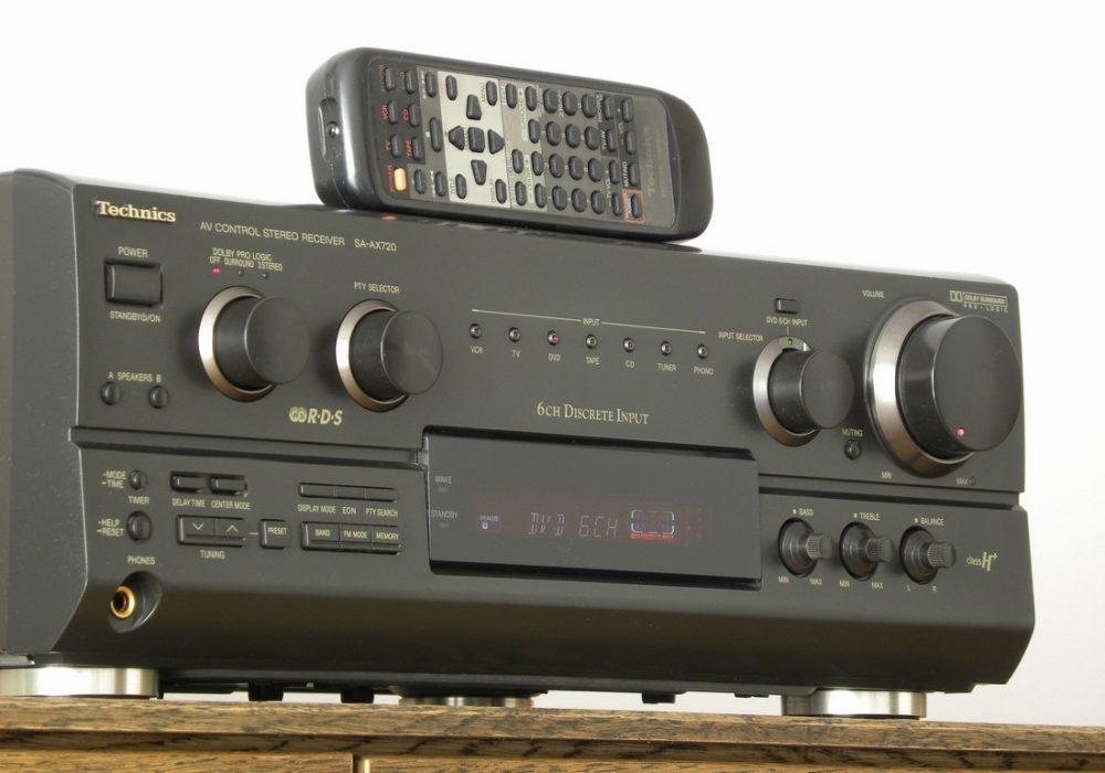 Technics SA-AX720 功率放大器