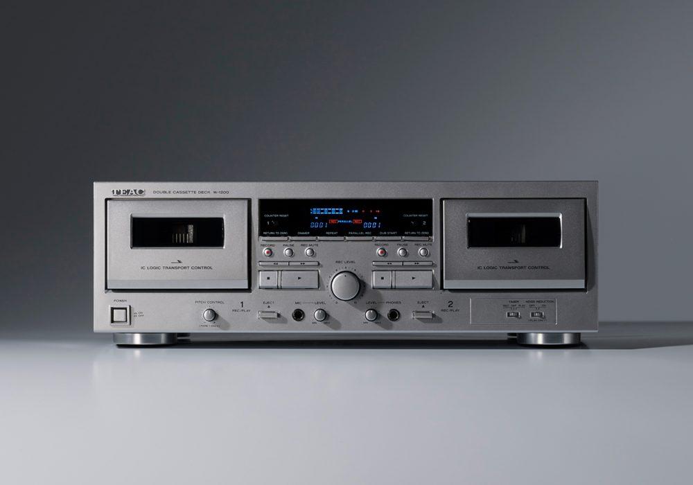 TEAC W-1200 双卡座