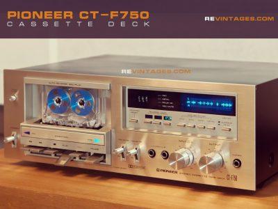先锋 PIONEER CT-F750 卡座