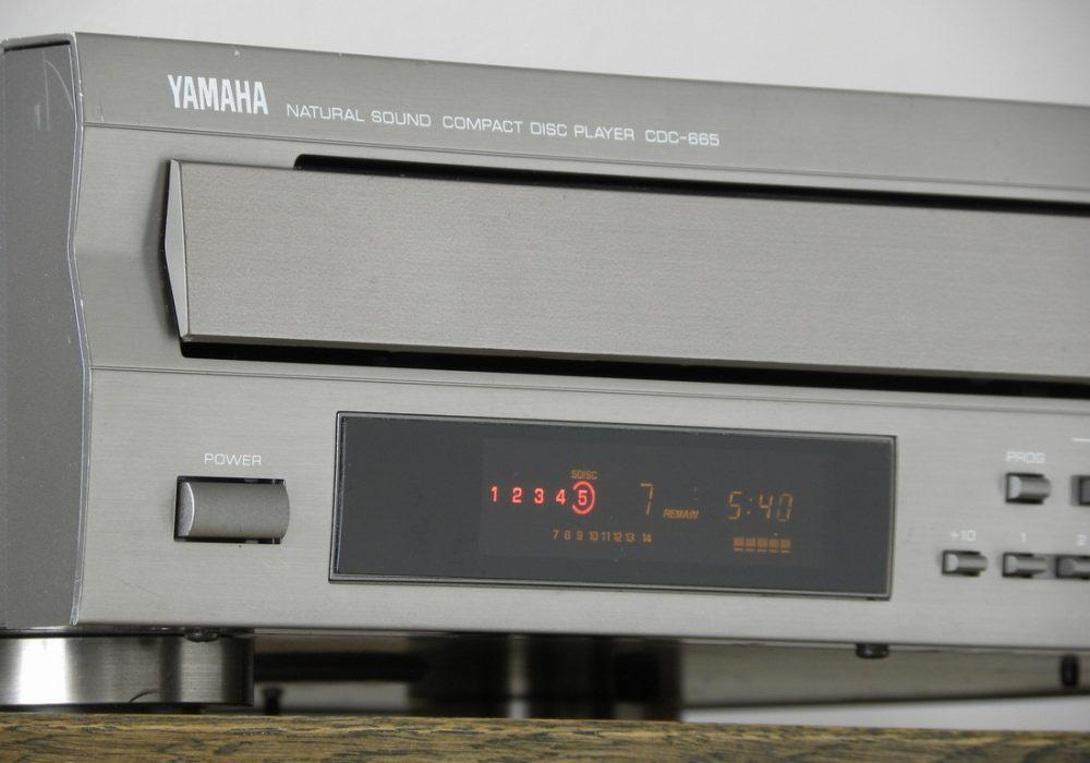 YAMAHA CDC-665 5碟连放 CD播放机