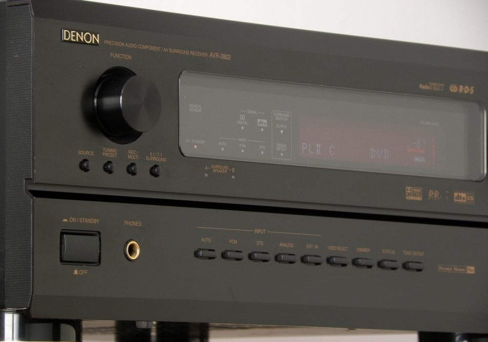 DENON AVR-3802 AV功率放大器
