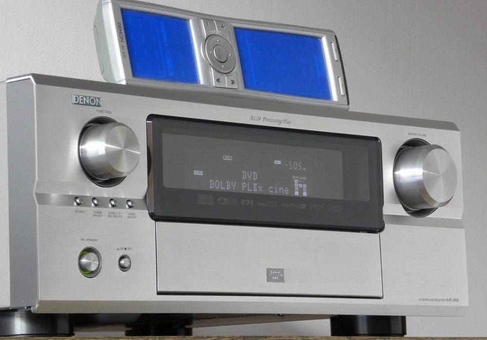 DENON AVR-3805 AV功率放大器