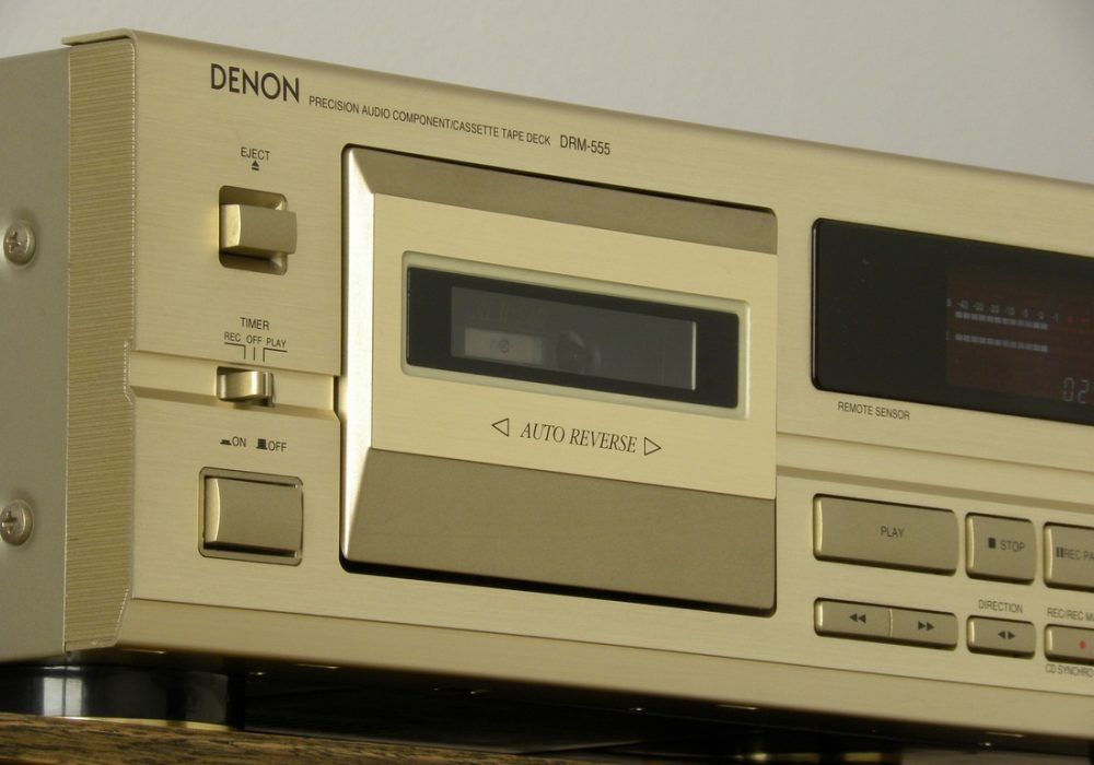 DENON DRM-555 卡座