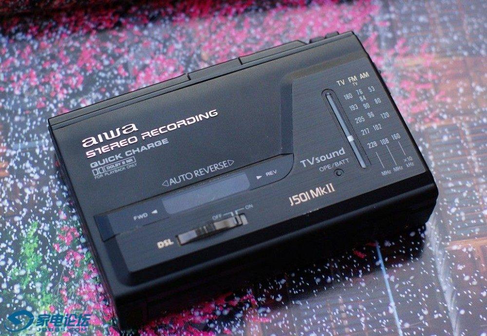 爱华 aiwa J501MK2 磁带随身听