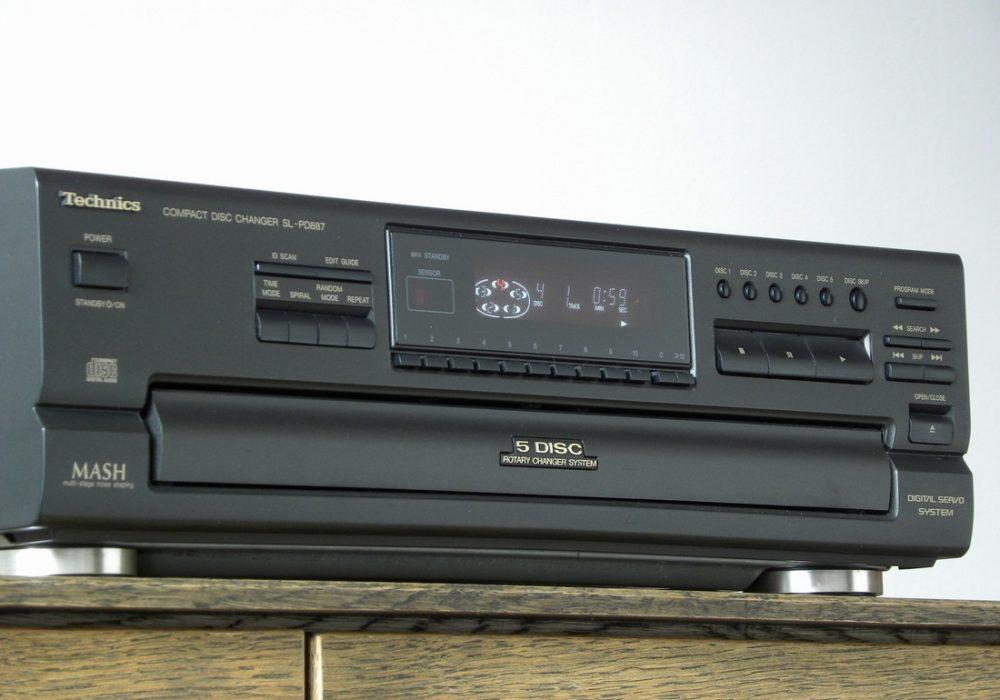 Technics SL-PD887 5碟连放 CD播放机