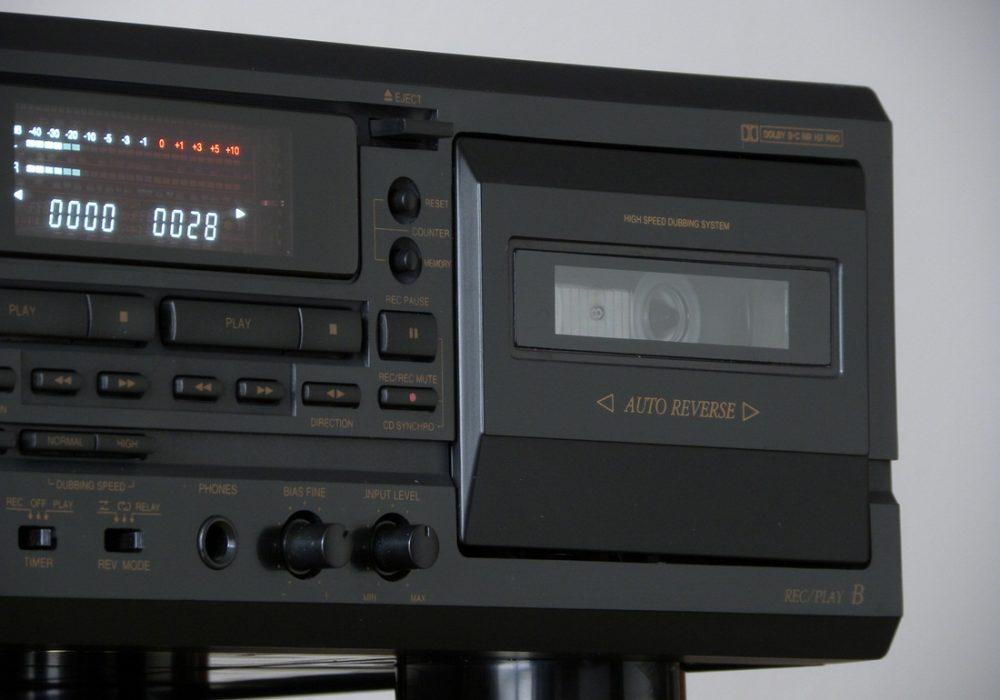 DENON DRW-695 双卡座