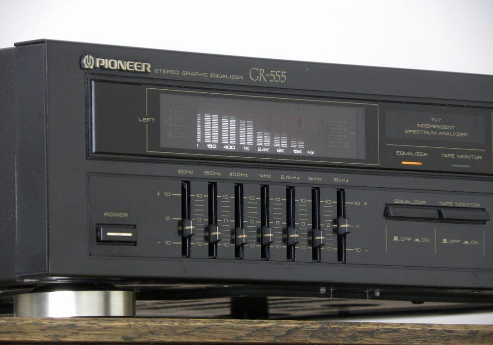 PIONEER GR-555 图示均衡器